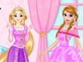 Anna vs Rapunzel Beauty Contest