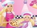 Barbie cook Pizza