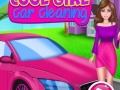 Cool Girl Car Cleaning