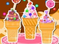 Ice cream cone cupcakes candy