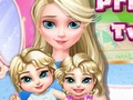 Princess Elsa Twins Care