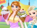 Princesses Ice Cream Deco