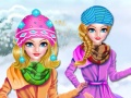 Princess Winter Camping Adventure
