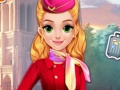 Blonde Princess Cabin Crew Makeover