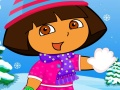 Dora and Boots Winter Dressup