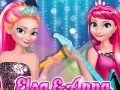 Elsa And Anna In Rock N Royals