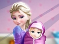 Elsa and the New Born Baby