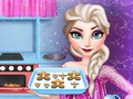 Elsa cooking Gingerbread