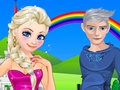 Elsa and Jack Romatic Date