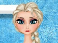 Elsa Washing Clothes