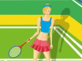 Fashion Tennis Girl