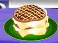 Grilled Ham Cheese Waffle