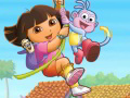 Dora Collect the Flower