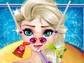 Elsa Frozen Nose Doctor