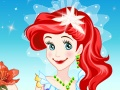 Ariel Wedding Dress up