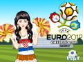 Euro Football 2012 Cheerleader