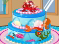 Mermaid Cake Decoration