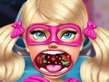 Super Barbie Sister Throat Doctor