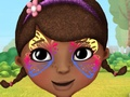 Doc Mcstuffins Face Painting
