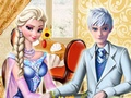Perfect date Elsa and Jack Frost