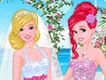 Princesses at Barbies Wedding