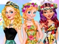 Princesses Color Splashes