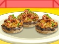 Safron Stuffed Mushrooms