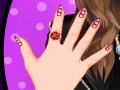 School Girl Cute Nail Design