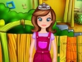Sofia The First Gardening