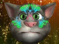 Talking Tom Face Painting